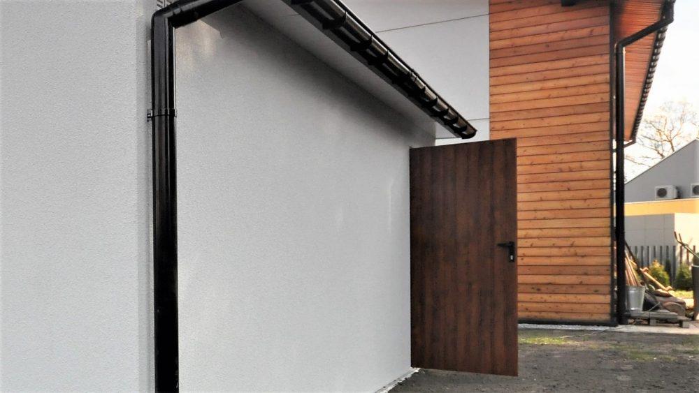 63. Na zdjęciu garaż Uno-Plus - 2 samochody, razem szer.6,0m x dł.5,80m może być wykonany w innych wymiarach.