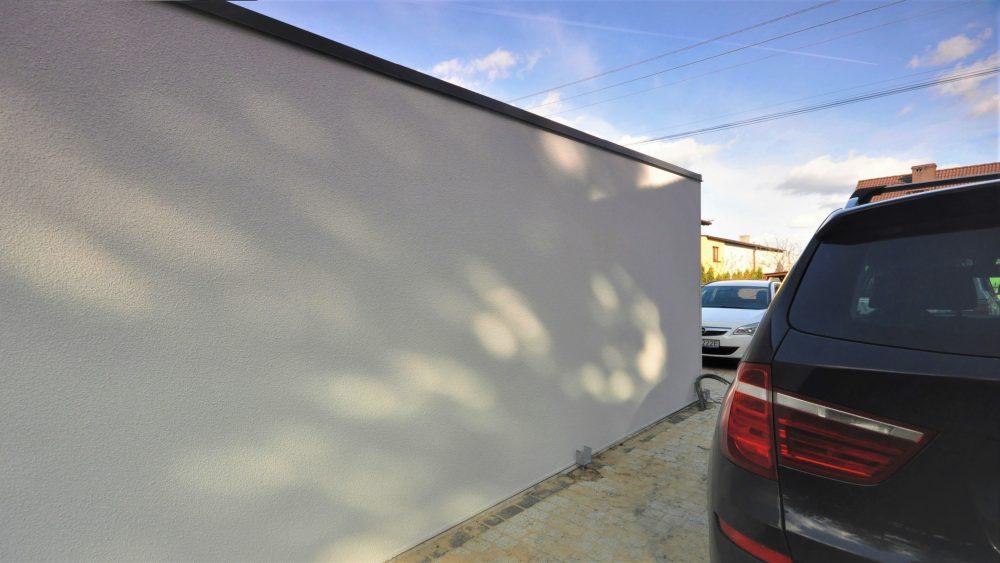64 Na zdjęciu garaż Uno-Plus - 2 samochody, razem szer.6,0m x dł.5,80m może być wykonany w innych wymiarach.